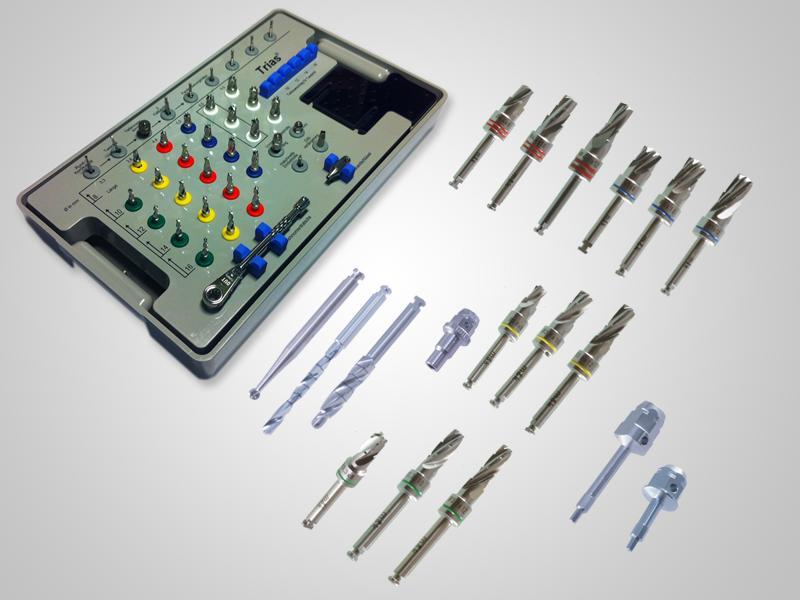 Chirurgie-Set zweiteilige Implantate