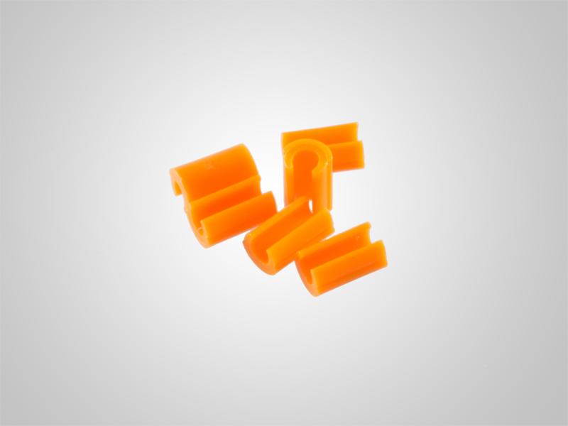 Universalreiter orange Innendurchmesser 1,9 mm 6 Stück oder 50 Stück