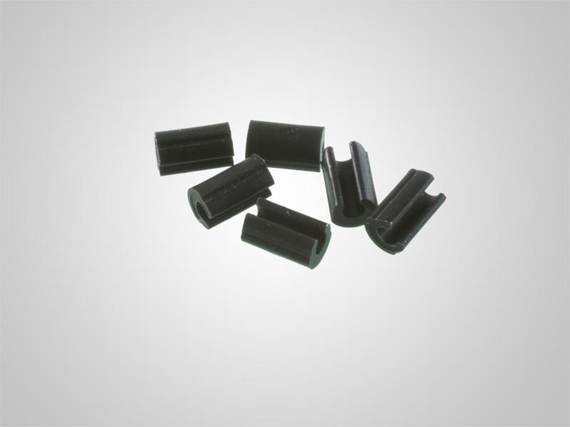 Universalreiter schwarz Innendurchmesser 1,6 mm 6 Stück oder 50 Stück