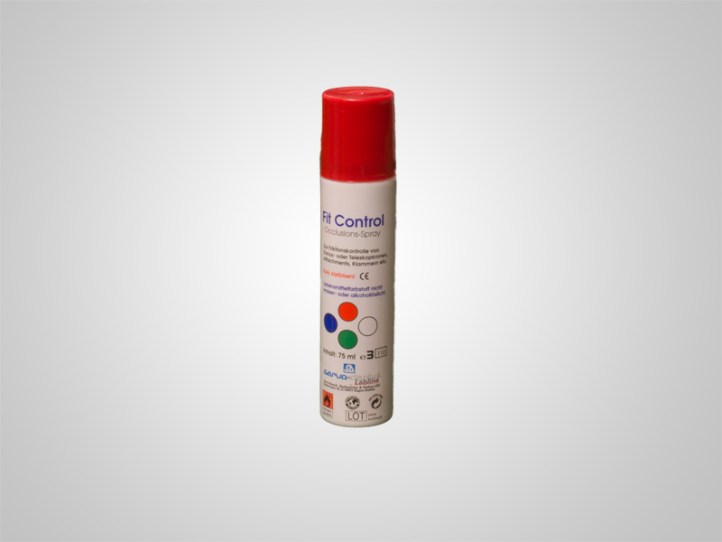 Fit Control Okklusionsspray Rot