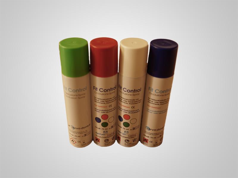 Fit Control Okklusionsspray Set - Alle Farben