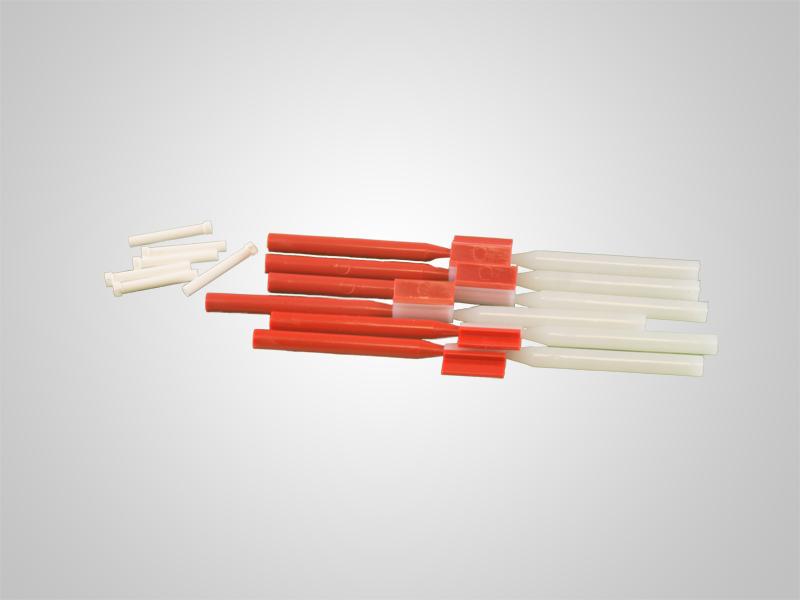 OM-Gechiebe ø 1,3 mm - Enthält 6 Matrizen und 6 Patrizen, inkl. 6 Keramikstifte