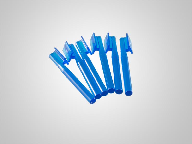 Profilstäbe blau für ROD Attachment 6 Stück oder 50 Stück