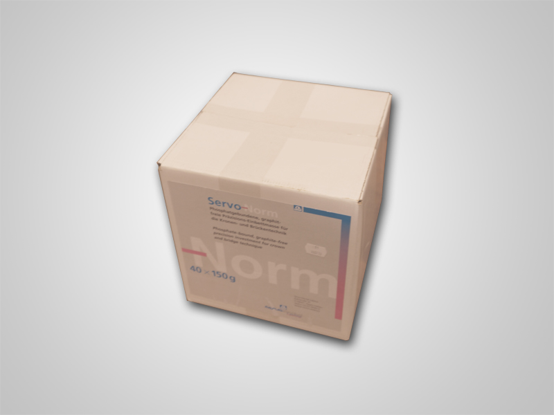 EInbettmasse - Servo Norm Anmischpulver 40x150g Karton
