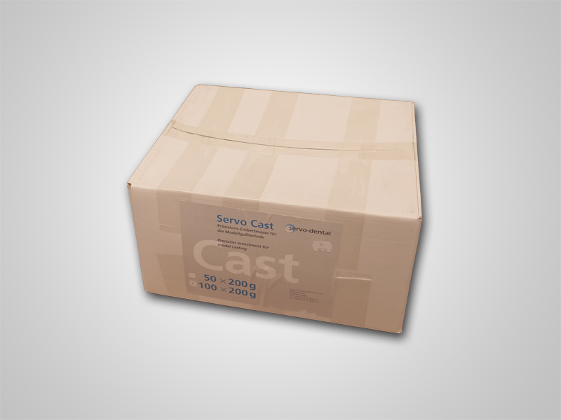 Servo-Cast Einbettmasse 100x200g