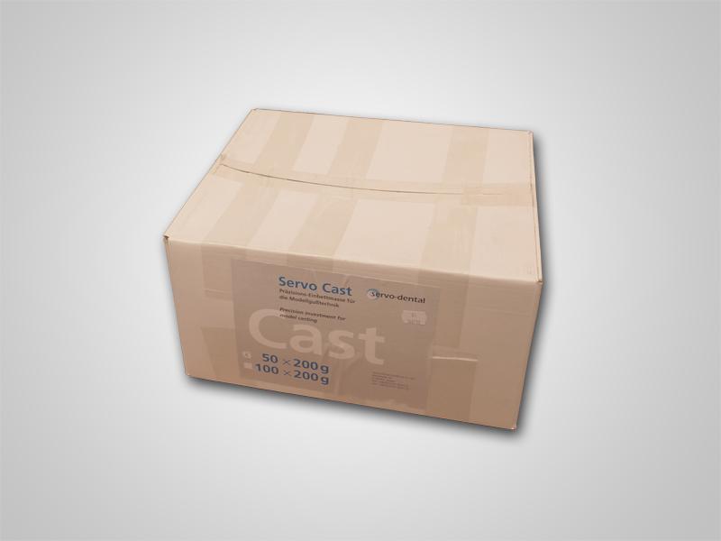 Servo-Cast Einbettmasse 50x200g