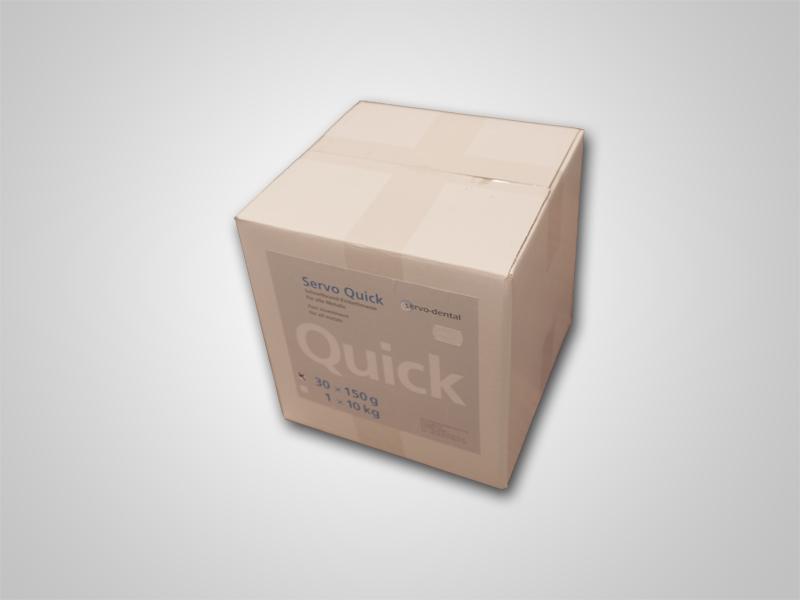 Servo-Quick Anmischpulver 30x150g Karton
