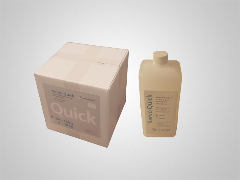 Servo-Quick 30x150g inklusive 1l Liquid