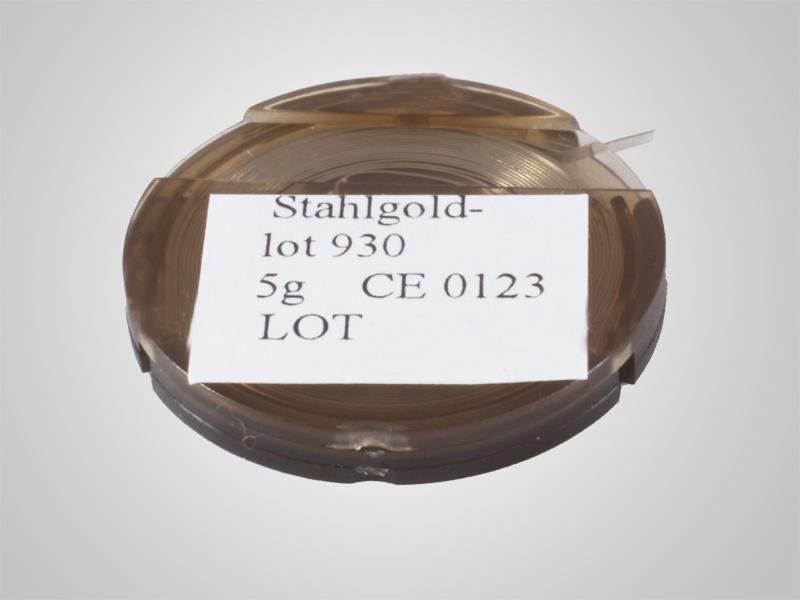 Stahlgoldlot 930