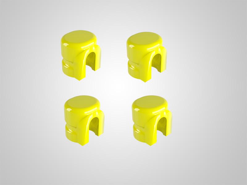 KAV Matrizen gelb zum Dublieren