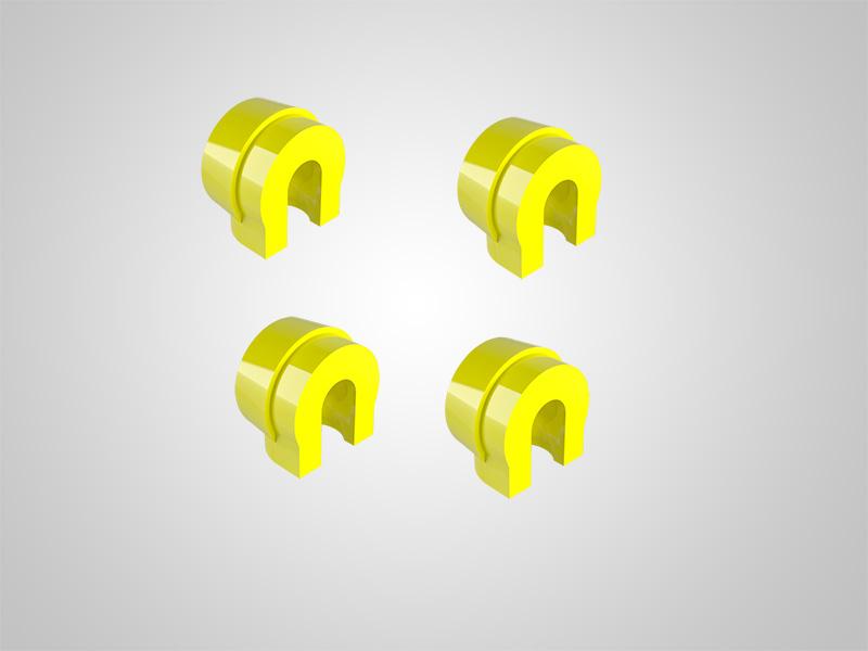 KAV Matrizen gelb für INOX-Gehäuse