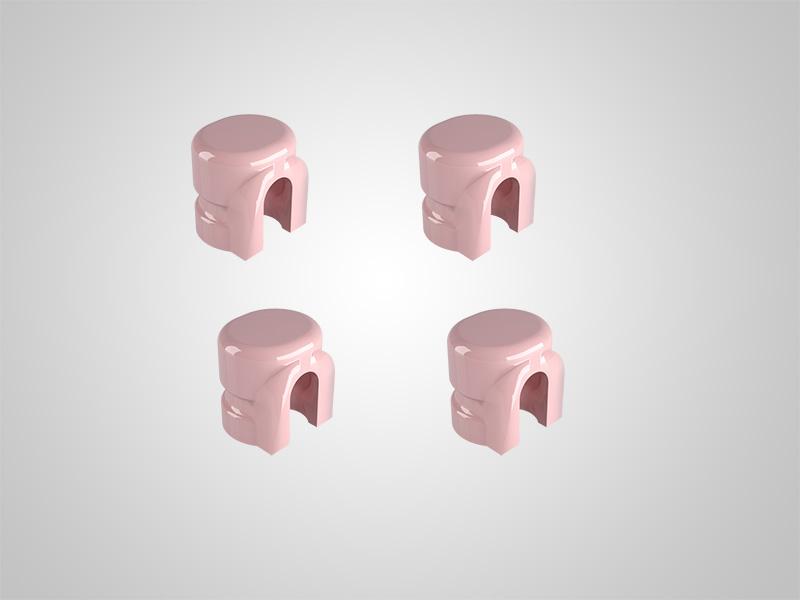 KAV Matrizen rosa zum Dublieren